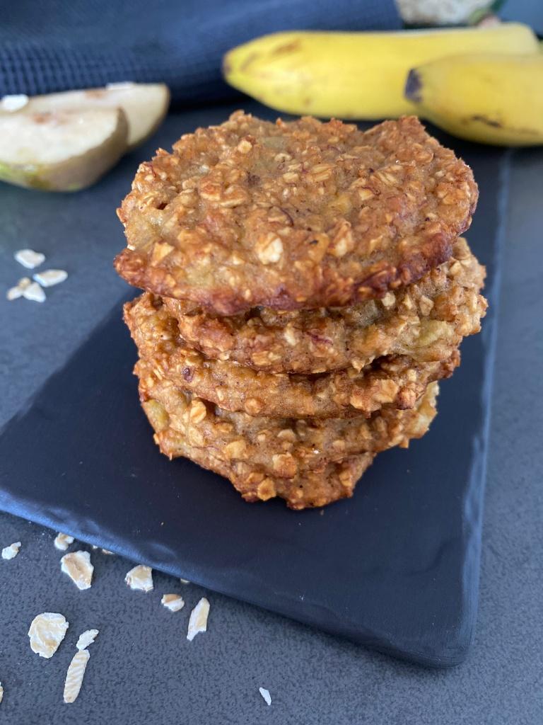 Pear Oatmeal Cookies
