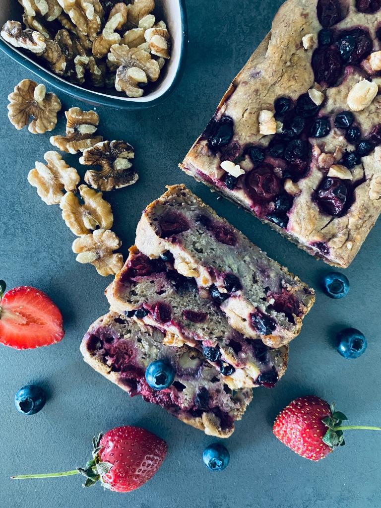 Healthy Berry Bread