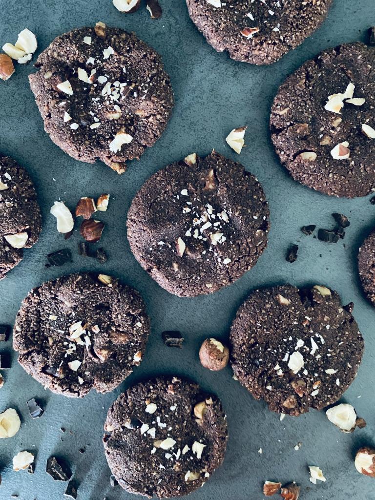Healthy Chocolate Hazelnut Cookies