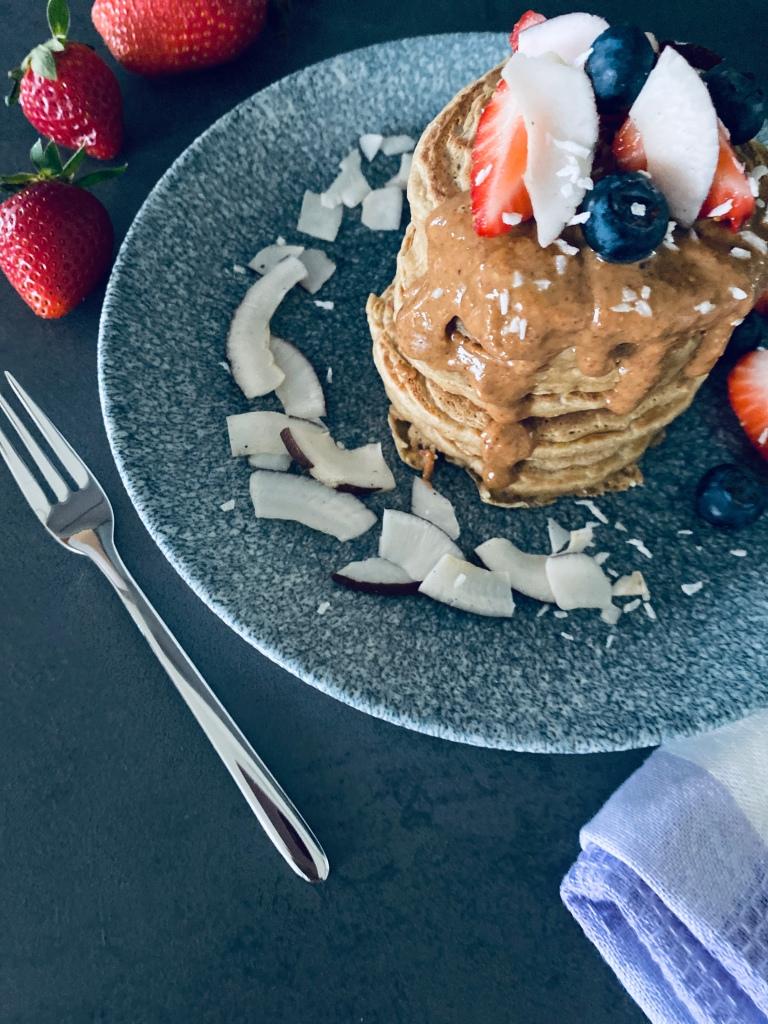 Healthy Coconut Pancakes