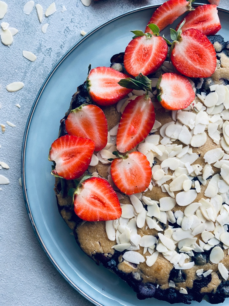Healthy Bueberry Cake